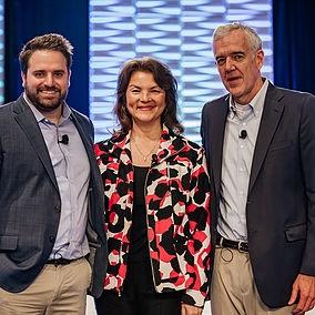 John Hinckley, Gigi Giannoni and Joseph Batdorf