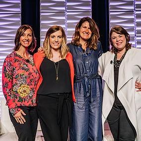 Jennifer Anderson, Melanie Flaherty, Cassie Khaing and Gianna Negretti