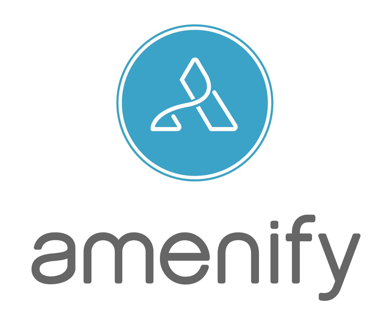 AmenifyLogo_blue grey lockup